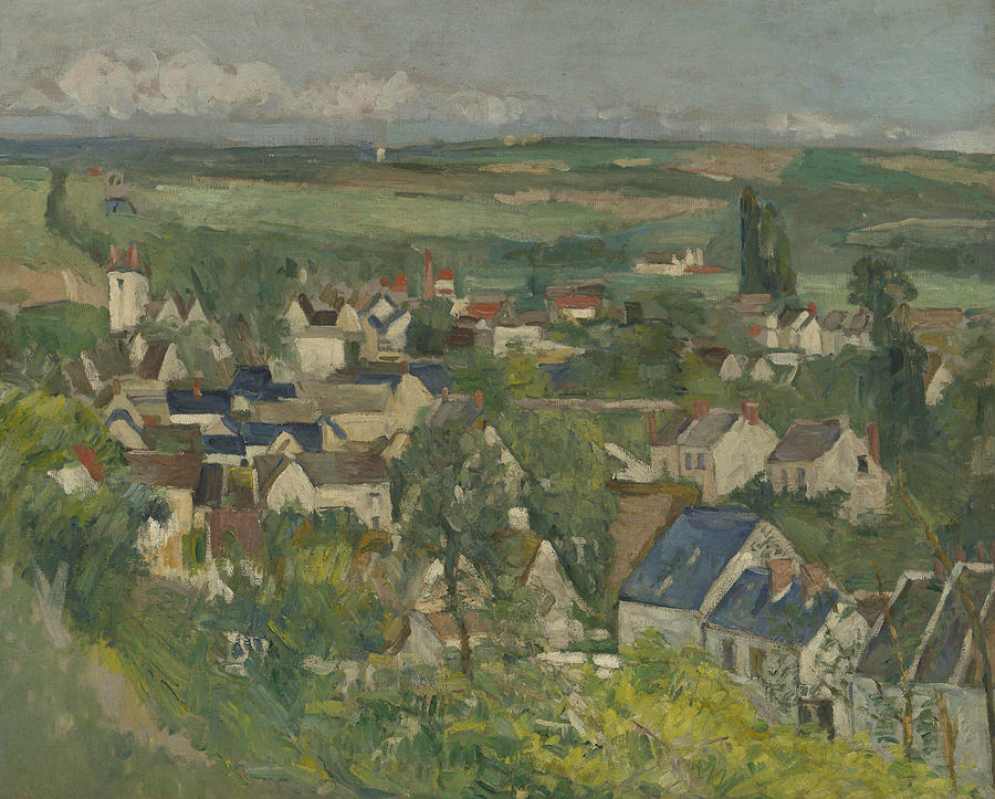 Auvers, Panoramic View by Paul Cezanne