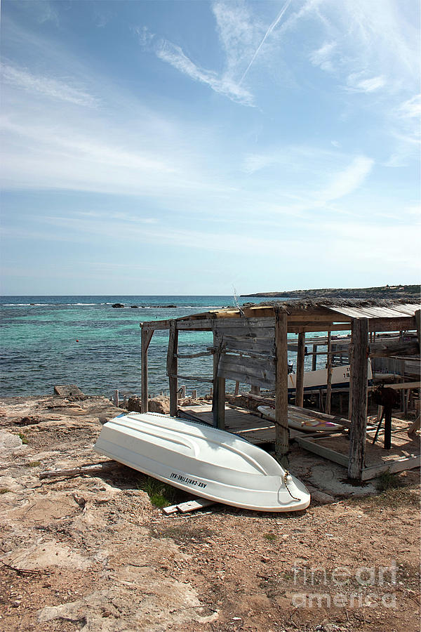 Formentera Photograph - Aux Christine Kai by John Edwards