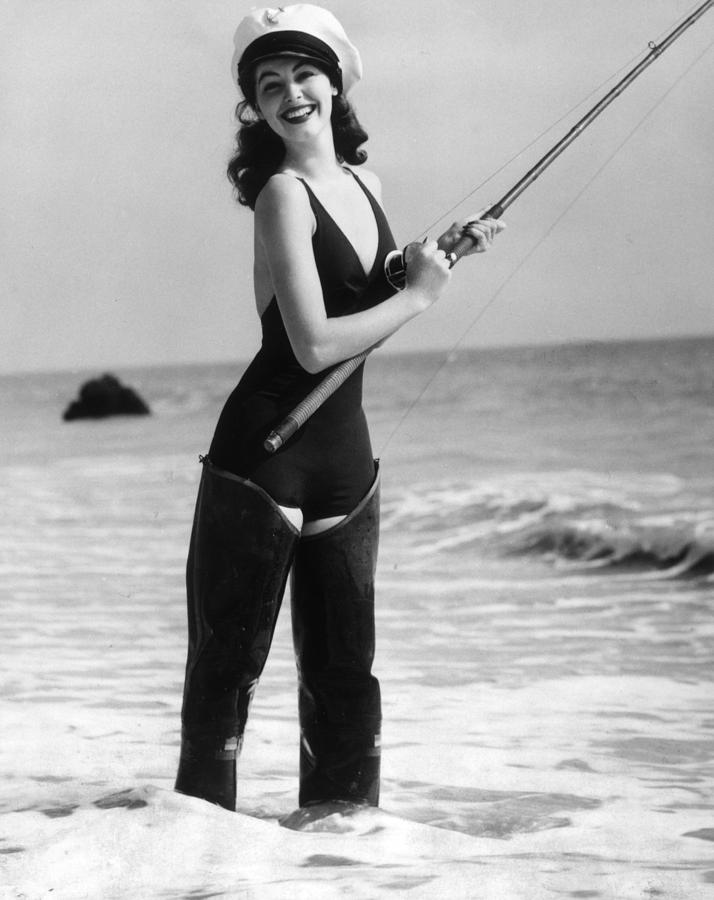 Ava Gardner Photograph by Hulton Archive