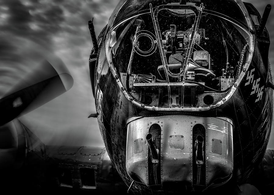 B-17 Flying Fortress Nose Turret  by Bob Orsillo