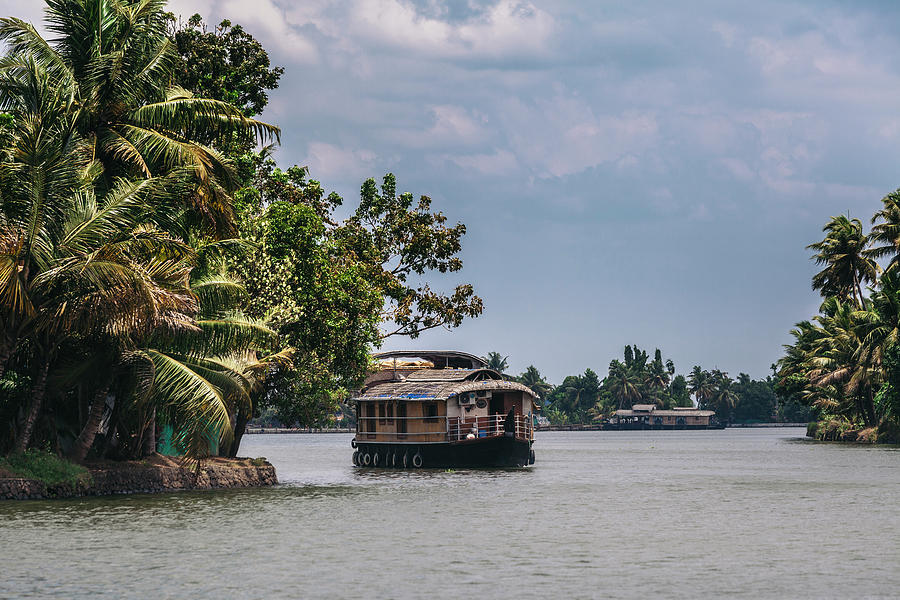 Backwaters Of Kerala by Maria Heyens