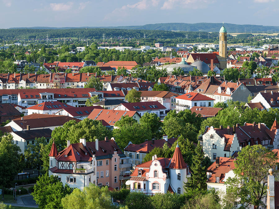Bamberg Photograph - Bamberg In Franconia, A Part Of Bavaria by Martin Zwick
