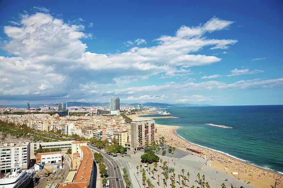 Barcelona Coastline Photograph by Nikada