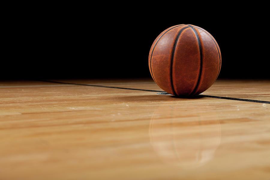 Basketball Photograph by Garymilner