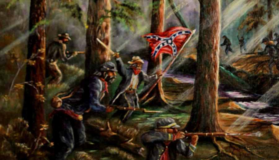 Battle of Chancellorsville - The Wilderness by Philip Bracco