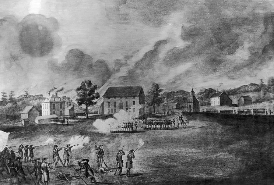 Battle Of Lexington Photograph by Fotosearch