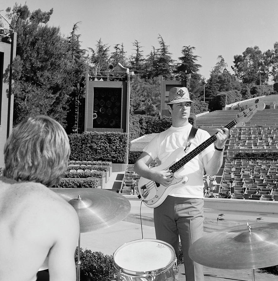 Beach Boys At The Hollywood Bowl Photograph by Michael Ochs Archives