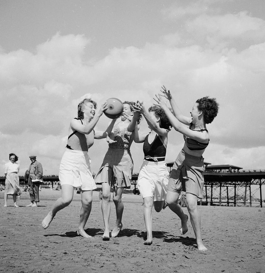 Beach Fun Photograph by Chaloner Woods