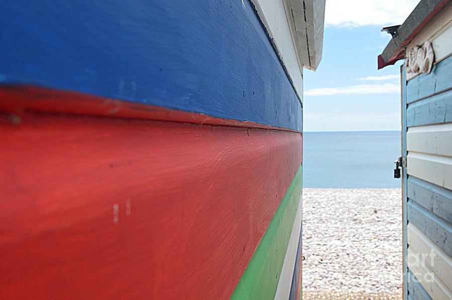 Beach Photograph - Beach Huts by Andy Thompson