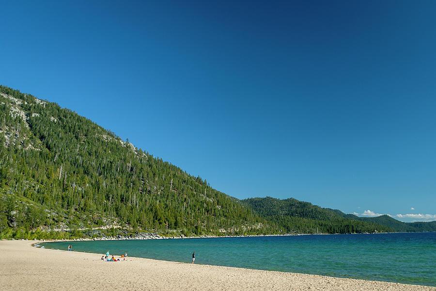 Beach, Lake Tahoe, Usa Photograph by Stuart Dee