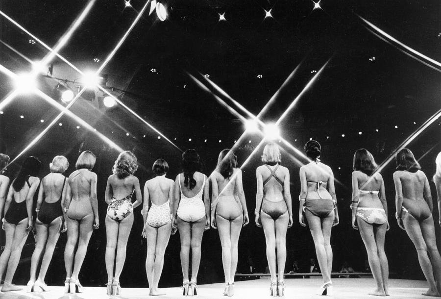 Beauty Contest Photograph by Evening Standard