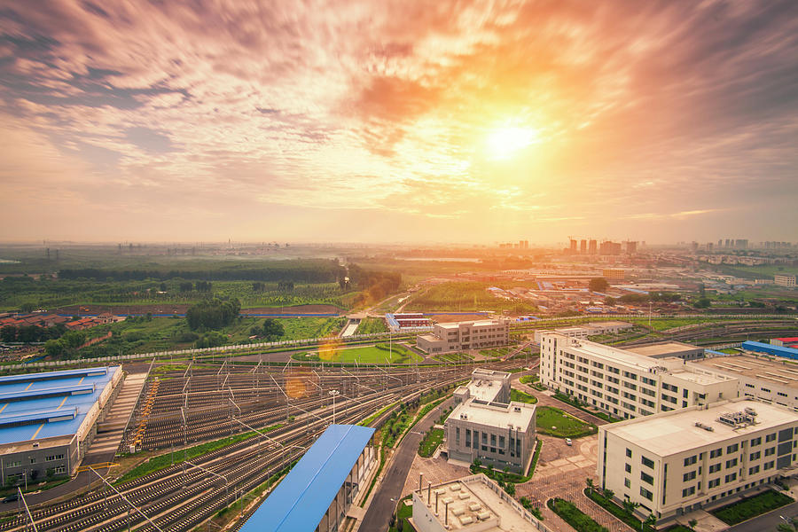 Beijing Morning Photograph by Czqs2000 / Sts