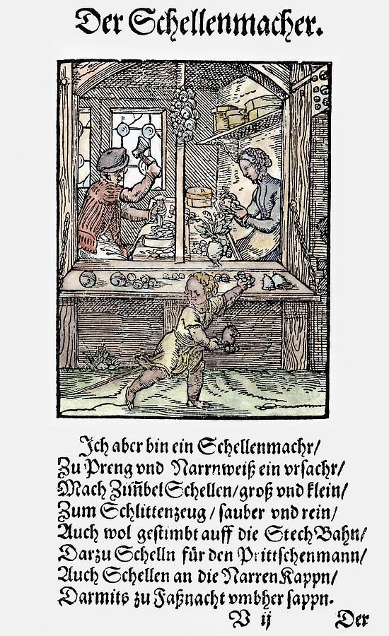 Bell Maker, 1568 by Granger