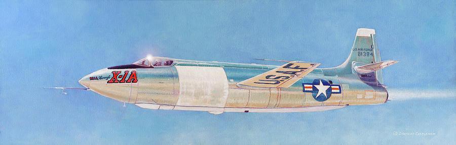 Bell X-1A by Douglas Castleman