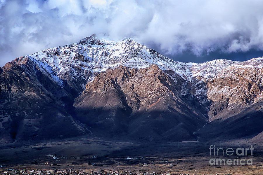Ben Lomond Peak by Roxie Crouch