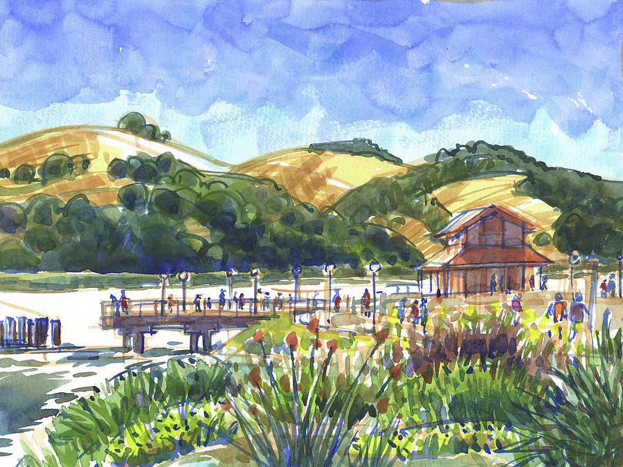 Benicia Point Pier by Judith Kunzle