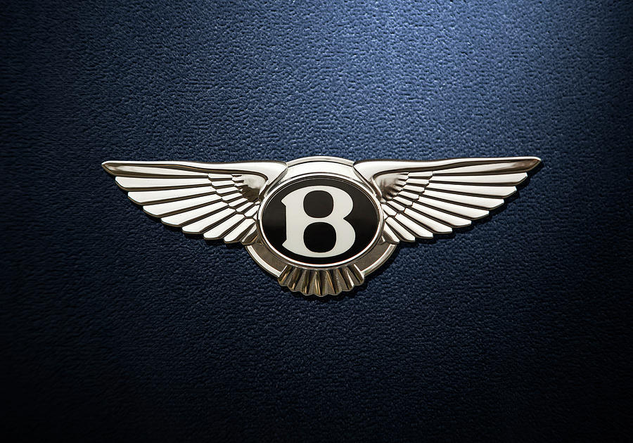 Bentley Digital Art - Bentley Logo by Benjamin Suber