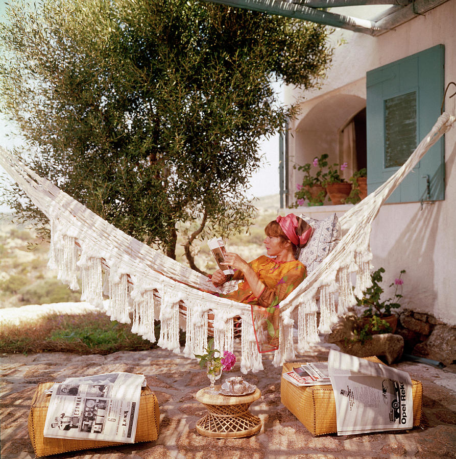 Bettina Graziani 1 Photograph by Slim Aarons