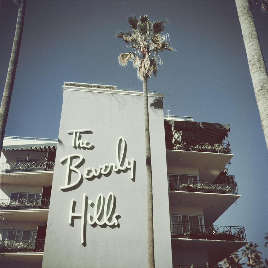 Beverly Hills Hotel Photograph by Slim Aarons