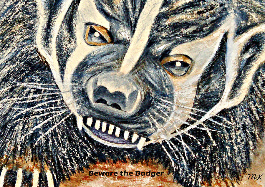 Beware The Badger by Thomas Kuchenbecker