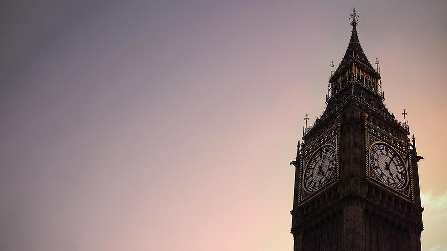Big Ben Clock Tower Photograph by Sherif A. Wagih (s.wagih@hotmail.com)