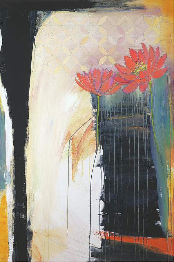 Abstract Painting - Billboard For Love I by Jodi Fuchs