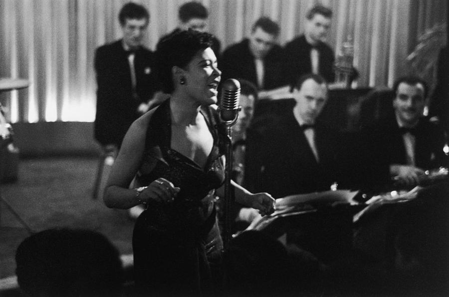 Billie Holiday Photograph by Charles Hewitt
