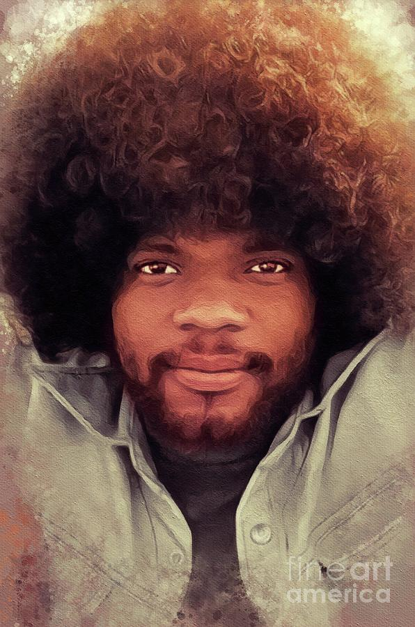 Billy Preston Music Legend Painting By Esoterica Art Agency