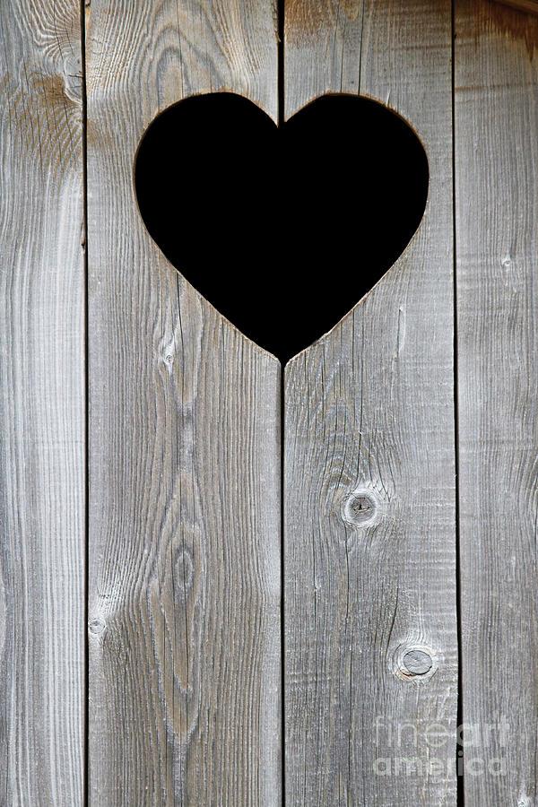 Black Heart Photograph by Walter Quirtmair