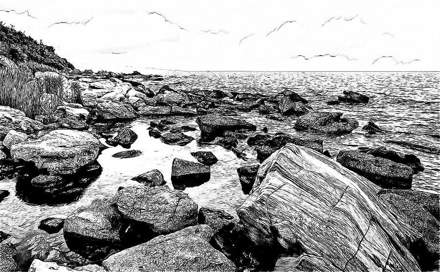 Black Sea Coast Photograph