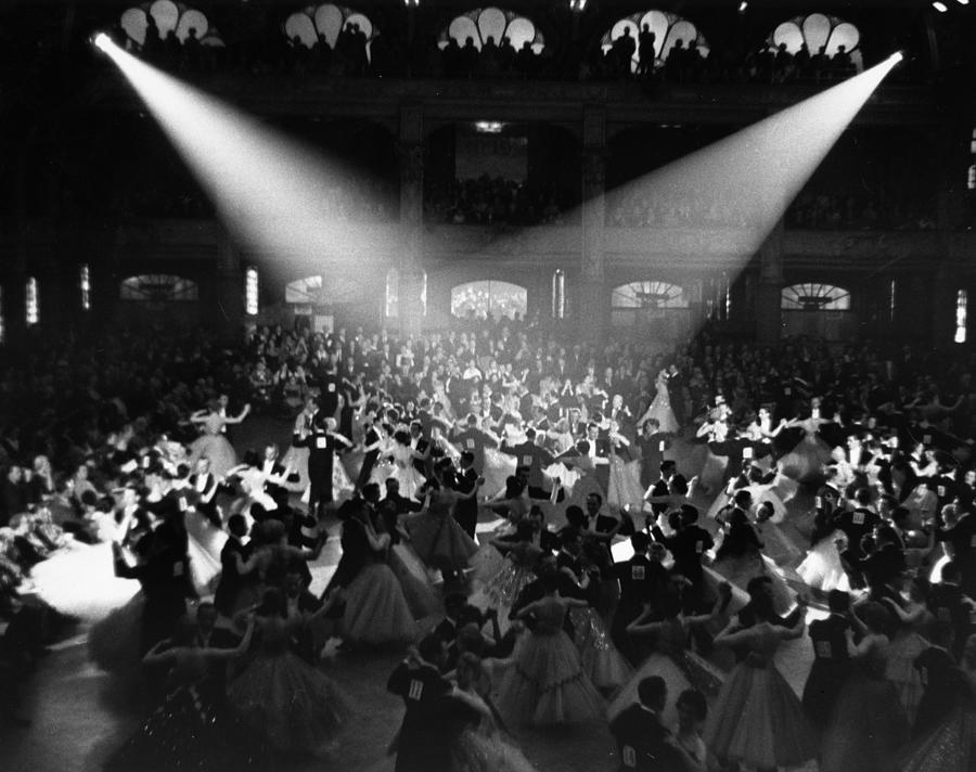 Blackpool Dancers Photograph by Alex Dellow