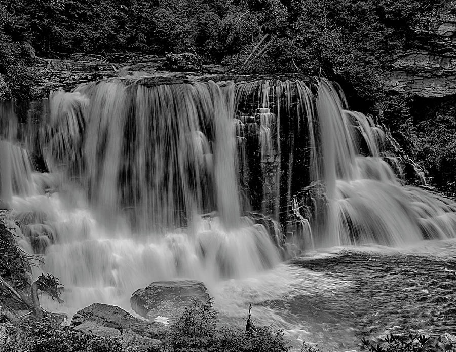 Blackwater Falls Mono 1309 by Donald Brown