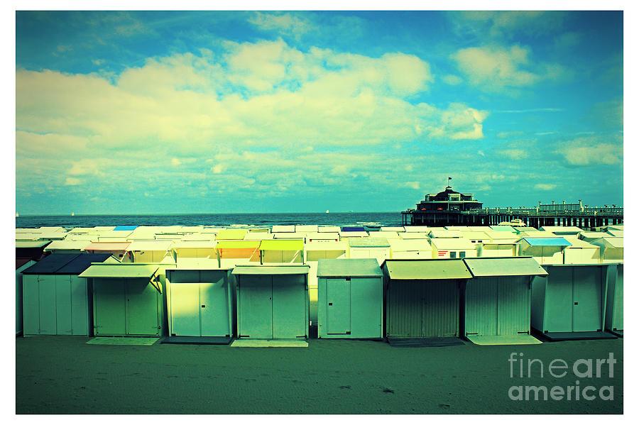 Beach Photograph - Blankenberge Beach by Jurgen Huibers