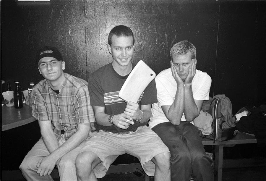 Blink 182 Pose For A Portrait In Los Photograph by Jim Steinfeldt