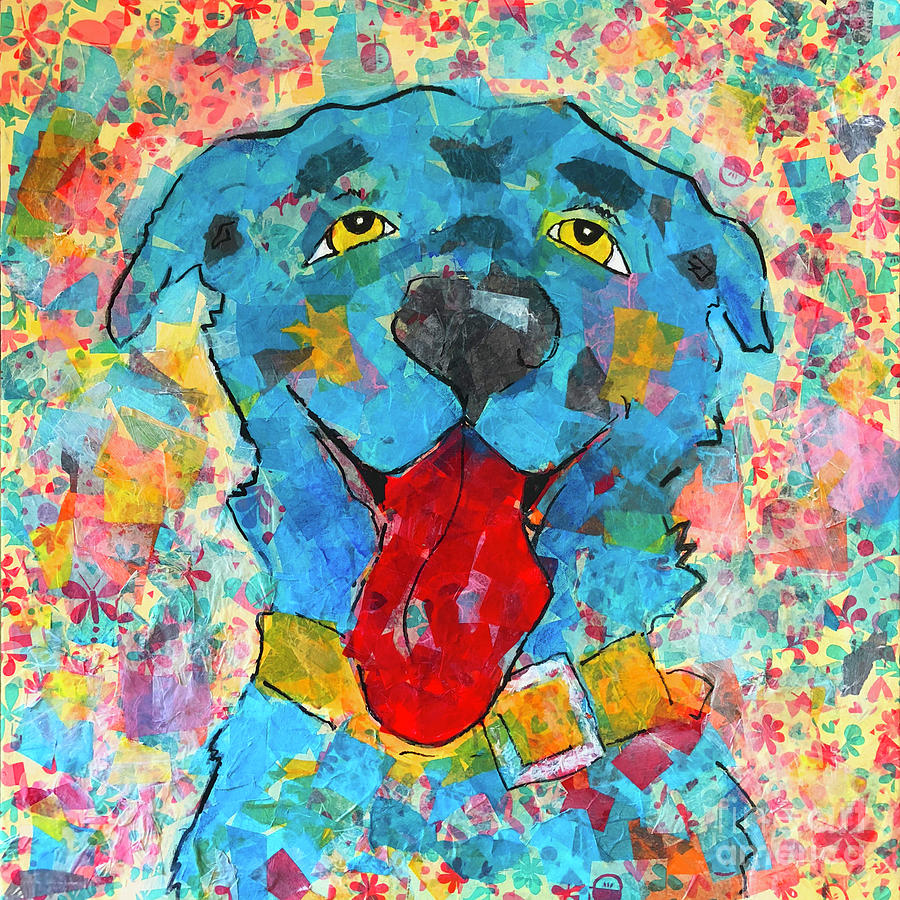 Blue Dog by Robin Wiesneth