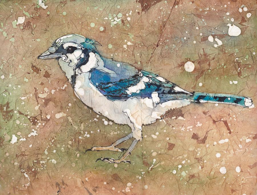Blue Jay by Ruth Kamenev