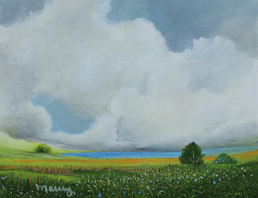 Blue Lake by Alicia Maury