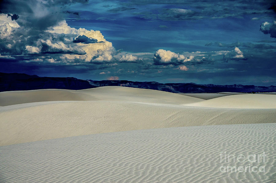 White Sands Photograph - Blue Skies by Stephen Whalen