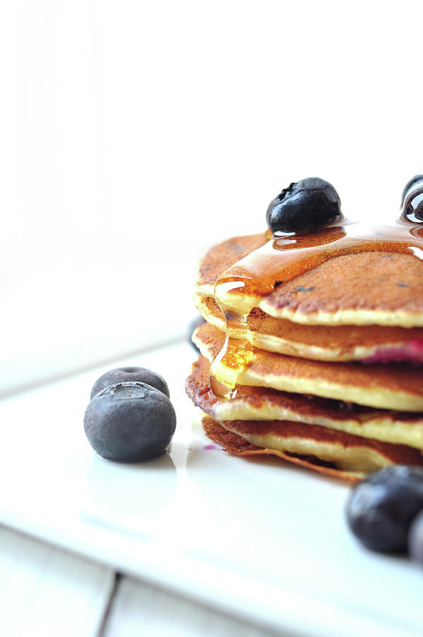 Blueberry Pancake Photograph by All Rights Reserved @tailortang