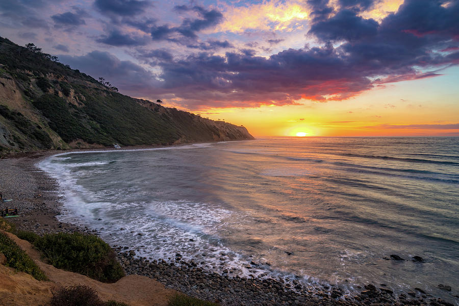 Bluff Cove at Sunset by Andy Konieczny