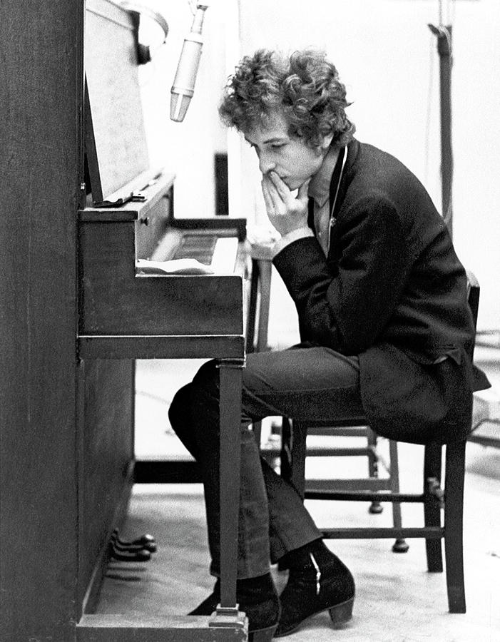 Bob Dylan Records Highway 61 Revisited Photograph by Michael Ochs Archives