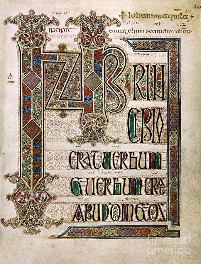 BOOK OF LINDISFARNE by Granger