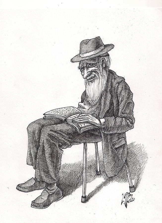 Bookish Man by Victor Molev