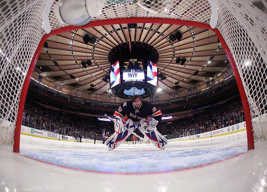 Boston Bruins V New York Rangers Photograph by Bruce Bennett