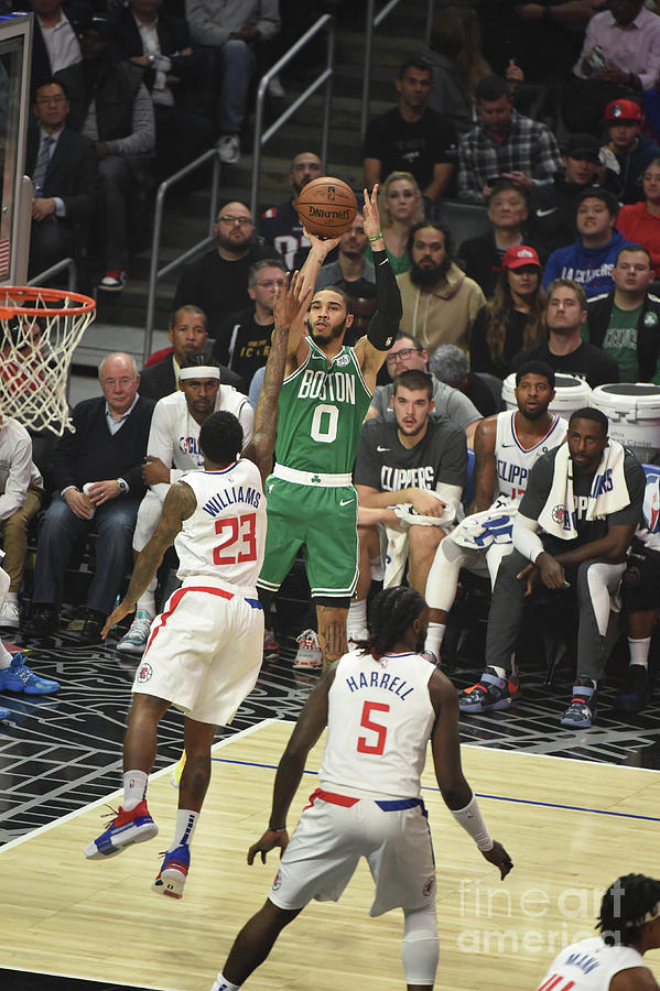 Boston Celtics V La Clippers Photograph by Adam Pantozzi