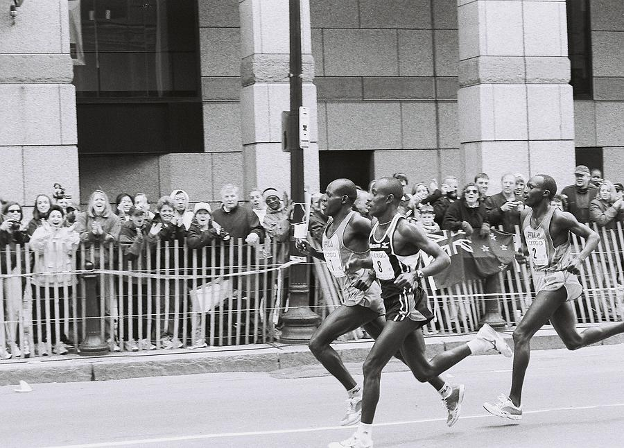 Boston Marathon by FD Graham