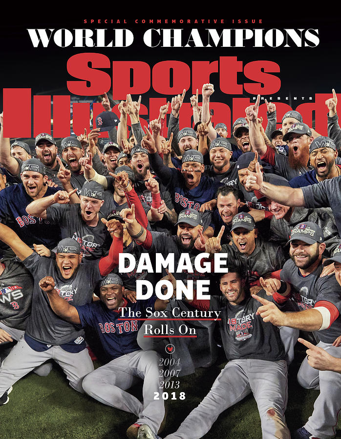 Boston Red Sox, 2018 World Series Champions Sports Illustrated Cover Photograph by Sports Illustrated