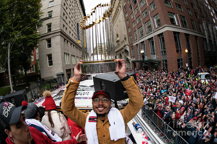 Boston Red Sox 2018 World Series Parade 1 Photograph by Billie Weiss/boston Red Sox