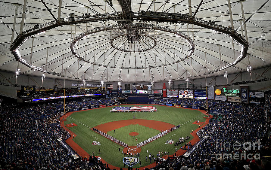 Boston Red Sox V Tampa Bay Rays Photograph by Mike Ehrmann