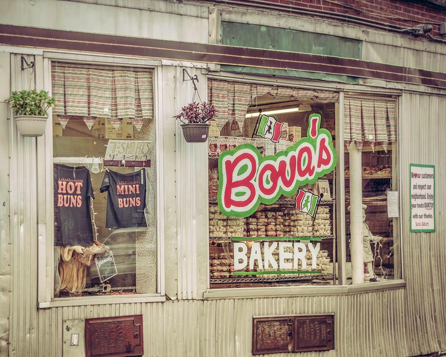 Bova's Bakery - Boston North End  by Joann Vitali